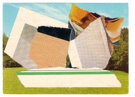 """This featured image, Ellsworth Kelly's collage <i>Dolder Grand, 1977</i>, is from <a href=""""9781935202134.html"""">Ellsworth Kelly: Thumbing through the Folder, A Dialogue on Art and Architecture with Hans Ulrich Obrist</a>, published by Walther König and D.A.P."""