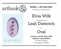Elvia Wilk book launch, conversation and signing at Artbook at Hauser & Wirth Bookstore, Los Angeles