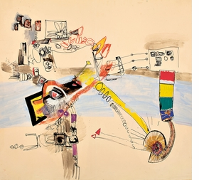 Featured image is reproduced from 'Eva Hesse: Oberlin Drawings.'