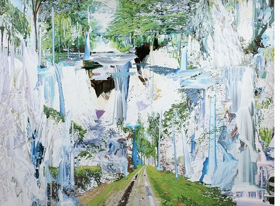 Exterior, interior and virtual all at once in 'Landscape Painting Now' painter Corrine Wasmuht