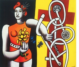 """Featured image, <i>Big Julie</i>, is reproduced from <a href=""""9780870707865.html"""">Fernand Léger</a>."""