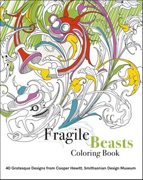 Fragile Beasts Coloring Book