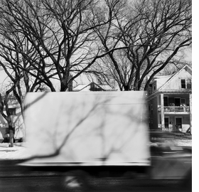 Featured image is reproduced 'Frank Gohlke: Speeding Trucks and Other Follies.'