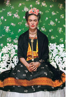 Featured image is reproduced from 'Frida Kahlo: Her Universe'.