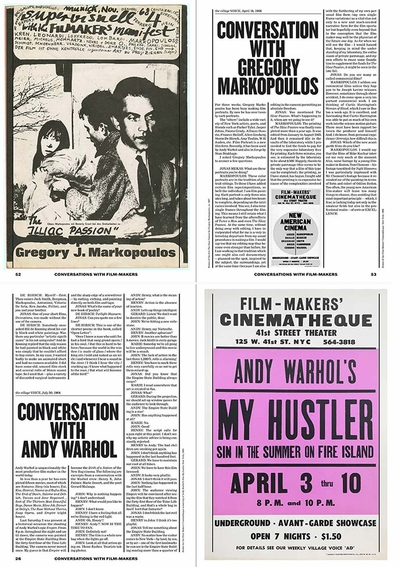 From Kenneth Anger to Agnès Varda: Jonas Mekas' 'Conversations with Film-makers'