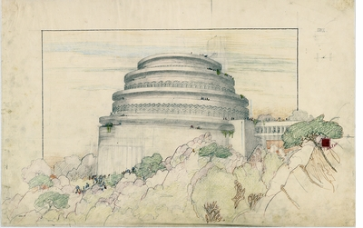 From the prairie to the planets: the visionary architecture of Frank Lloyd Wright