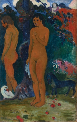 Featured image is reproduced from 'Gauguin and the Impressionists.'