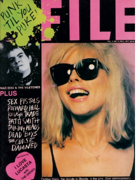 """""""Punk 'Til You Puke! Issue"""" of <I>ISSUE</I> magazie, vol. 3, no. 4, Fall 1977"""