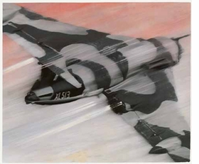 """""""I find this image very brutal, rather like a poster. The angle of the aeroplane flying swiftly past was an image I found very interesting and something not to be found in art history, with exception, perhaps, of Lichtenstein."""" <p>Gerhard Richter, excerpted from his conversation with Sean Rainbird. Featured painting is <I>XL 513</I>, 1941. Quote and image are reproduced from <I>Gerhard Richter: Catalogue Raisonné, Volume 1.</I></p>"""