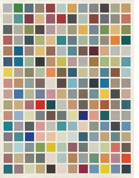 Featured image is reproduced from 'Gerhard Richter: Colour Charts.'