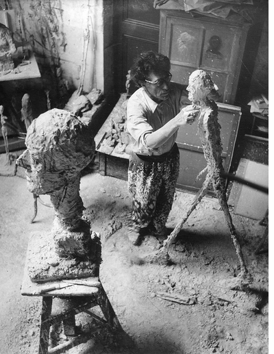 Giacometti: breaking free from enforced immobility