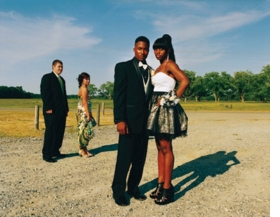 """Featured image, """"Couples arriving at the integrated prom, 2011"""", is reproduced from <I>Southern Rites</I>."""