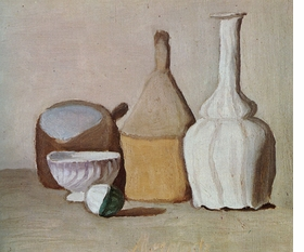 Featured image is reproduced from 'Giorgio Morandi.'