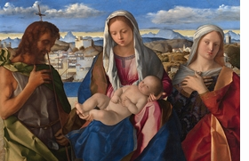 Featured image is reproduced from 'Giovanni Bellini: The Last Works.'