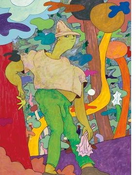 Featured image is reproduced from 'Gladys Nilsson: Honk! Fifty Years of Painting.'