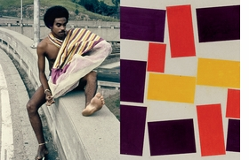 Featured spread is from 'Hélio Oiticica: Dance in My Experience.'