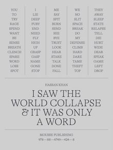 Hassan Khan: I Saw the World Collapse & It Was Only a Word