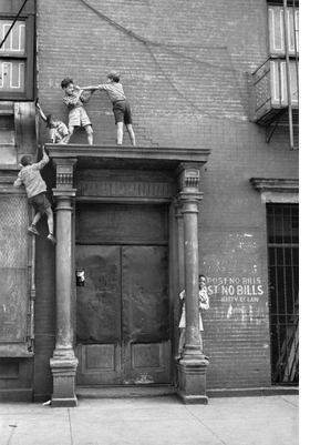 Featured image is reproduced from 'Helen Levitt: A Way of Seeing.'