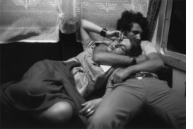 """""""Dans un Train, Roumaine"""" (1975) is reproduced from <I>Henri Cartier-Bresson: Aperture Masters of Photography</I>."""