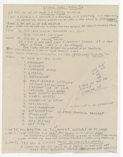 Hidden treasure brought to light in 'Jack Whitten: Notes from the Woodshed'