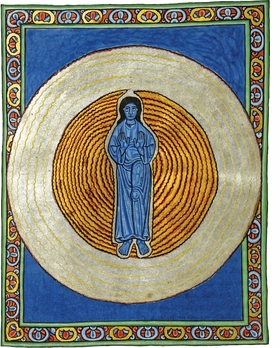 Featured image is reproduced from 'Hildegard von Bingen: A Journey into the Images.'