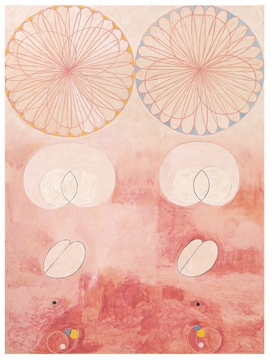 """""""No. 9, Old Age"""" (1907) is reproduced from 'Hilma af Klint: Artist, Researcher, Medium.'"""