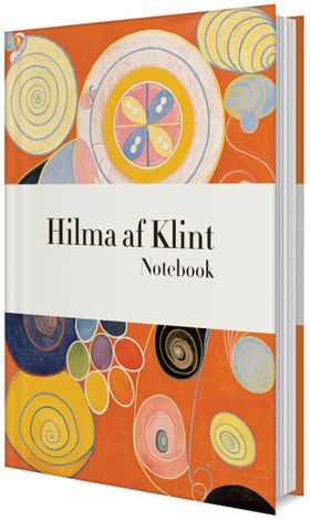 Hilma af Klint Orange Notebook