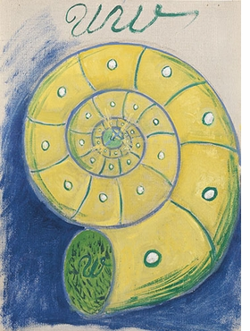 Featured image is reproduced from <I>Hilma af Klint: Painting the Unseen</I>.