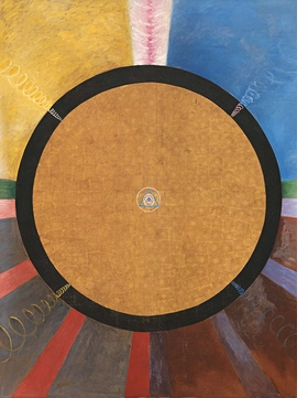 Featured image is reproduced from 'Hilma af Klint: Paintings for the Future.'