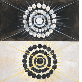 Featured image is reproduced from 'Hilma af Klint: The Art of Seeing the Invisible.'