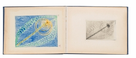Featured spread is from 'Hilma af Klint: The Blue Books 1906–1915.'