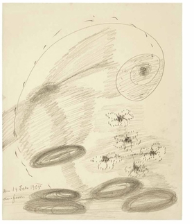Featured image is reproduced from 'Hilma af Klint: The Five Sketchbook 2'.