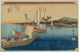 Featured image is reproduced from 'Hiroshige: Visions of Japan.'