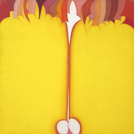 Featured image is reproduced from 'Huguette Caland: Everything Takes the Shape of a Person, 1970–78.'