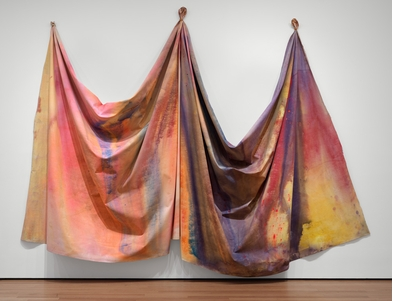 In 'Among Others,' Sam Gilliam addresses ontology, the artwork and the body