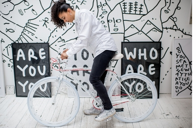 """In 'Lines,' Shantell Martin seeks to understand """"who we are at the core, as people"""""""