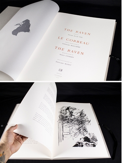 In 'The Raven/Le Corbeau/The Raven,' an epic approach to reading both Mallarmé and Poe