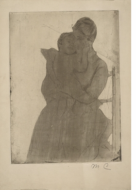 Featured image is reproduced from 'Inside Out: The Prints of Mary Cassatt.'