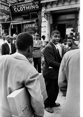 Featured image is reproduced from <I>Invisible Man: Gordon Parks and Ralph Ellison in Harlem</I>.