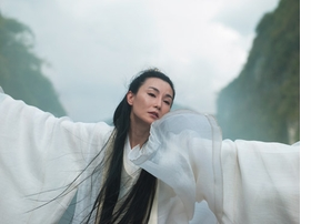 """Featured image, """"Maiden of Silence (Ten Thousand Waves)"""" (2010), is reproduced from <I>Isaac Julien: Riot</I>. Image is courtesy of the artist, Metro Pictures, New York and Victoria Miro Gallery, London"""