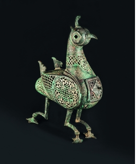 Featured image is reproduced from 'Islamic Metalwork from the Aron Collection'.