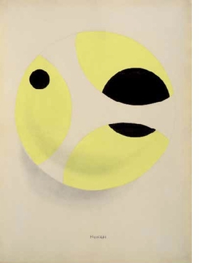 "Bruno Munari, ""Untitled"" (1937) is reproduced from 'Italian Drawings of the 20th Century.'"