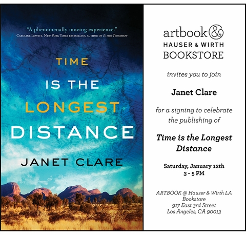"""Janet Clare to launch """"Time is the Longest Distance"""" at Artbook at Hauser & Wirth Los Angeles"""