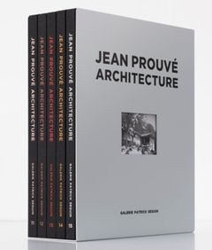 Jean Prouvé Architecture: Five-Volume Box Set No. 3