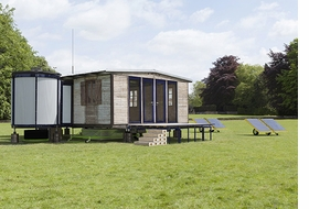 Featured image is reproduced from <I>Jean Prouvé: Maison Démontable 6x6 Demountable House</I>.