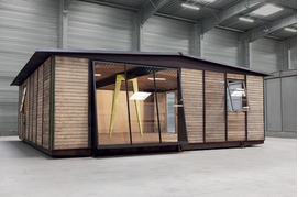 Featured image is reproduced from <I>Jean Prouvé: Maison Démontable 8x8 Demountable House</I>.