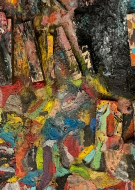 Featured image is reproduced from 'Jim Dine: Viral Interest'.