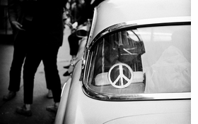Featured image is reproduced from 'Jim Marshall: Peace.'