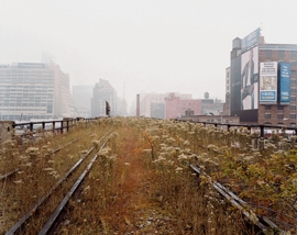 Featured image is reproduced from <I>Joel Sternfeld: Walking the High Line</I>.
