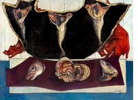 Featured image is reproduced from 'John Bellany & Alan Davie: Cradle of Magic.'